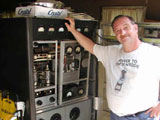 Photo: Joe N3IBX and his Coca Cola Kilowatt