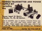 photo: magazine ad for Philmore NT-200 transmitter
